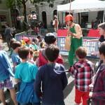 Deambulation Clown fête de la Manu 2013
